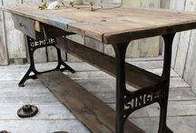 FURNITURES / Ideas for #diy, #makeover, #reporposed, # restoration and upcycle. Make your own furniture and renew the old ones