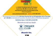 Inviting You to Visit 5th Asian Tourism Fair 2016 at ICCB from Sep 29 to Oct 01, 2016.