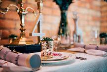 Table Settings / Table Settings at Weddings