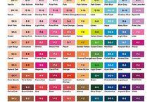 Pantones / so many colors, so many applications