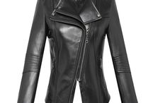 Women's Leather Moto Jackets / Women's leather moto jackets, cropped leather jacket, leather biker jacket, CWMALLS offers customized for leather jackets