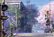 Anime Sceneries