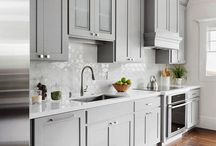 light grey kitchen