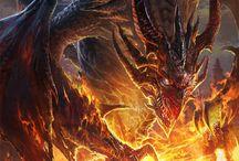 draghi / Nel mondo della fantasia