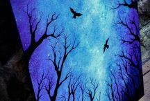 Kosmos, noc i inne do malowania