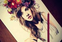 arts❤ / art, draw  and colorfull pictures