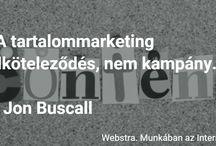 Tartalom Marketing / Content #marketing stratégia kidolgozása a #brandépítés szolgálatában