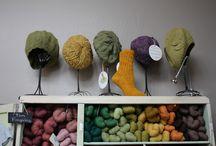 Yarn addiction - hands, heads and feet