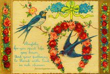 Vintage Greeting Cards (Nature)