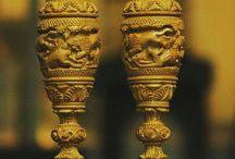 Wooden carved handicraft