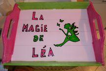 """Activités Manuelles pour l'association """"La Magie de Léa"""" / """" On créée avec nos 10 doigts, nos têtes et nos coeurs """"  Bénévolement je créée quelques petits objets qui sont ensuite revendus à petits prix lors des manifestations ou du marché de Noël de l'association """"La Magie de Léa"""". Asso pour une petite Léa de 5 ans, IMC suite à un accouchement très difficile."""