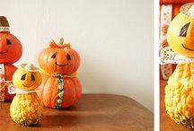"""DIY│Halloween / Kürbisfamilie, schwebende Geister oder """"Boo-Dose"""" - diese Halloween-Deko lässt sich ganz einfach selber machen"""
