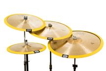 Cymbomute Products / Photos of cymbal mutes from Cymbomute  - The Optimum Cymbal Mute Design.
