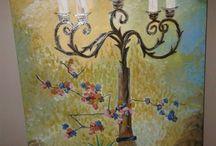 yagli boya tablo