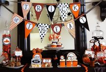 Halloween Party Ideas / Clever and sometimes creepy crafts, decor, food and more to help you get your kids ready for Halloween!