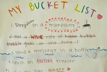 Kids' Bucket Lists