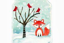 wallpaper - winter, xmas