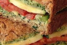 vegan sandwiches & burgers  / by Mary Vu