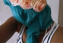 Blue hair / Want! Want! Want!