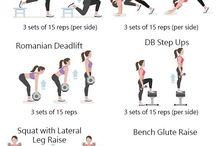 Trening nohy