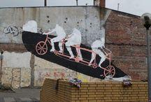 Murale -artystyczna ulica
