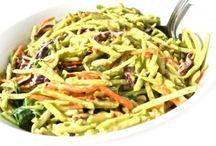 salads & veggies / by Kate Satterfield
