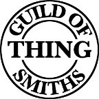 Guild Of Thing Smiths / Products from the Guild Of Thing Smiths. Handmade items by four youth entrepreneurs. Wood work, chain mail jewelery, felted figurines, pottery, metal work.