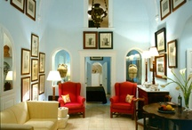 Stunning Greek Decor / interior design —residential & boutique hotels / by DailyFrappe ♥ Greece