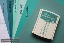 Stampin Up colour comparison