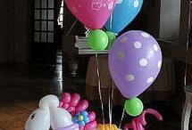 Balloon Rainbow Party Theme