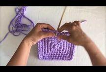 violetti neliskulmainen kori