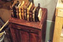 Hand Saw Tills / Where to keep hand saws