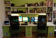 home office / by Zofia Photo