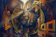 Artwork by Michael Divine / Michael is at the forefront of a resurgent creative wave that draws its inspiration not just from art theory and intellectual ideas but also from the basic principles of what it is to lead a healthy and vibrant life.