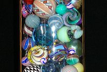 Marbles, interesting oooh Pretty / Game, collectible, new/ old/ any in between, history....Glass / by Winnie Adams