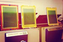 Screen Making / Making Screens