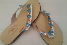 hand made greek leather sandals
