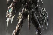 Armor/mecha/futuristic