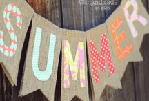 Bunting Party decorations ideas / Great ideas for bunting.