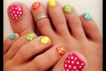 Finger and Toe Nails designs