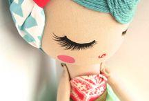 куколки спящие глазки
