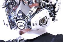 Scifi Armor suits