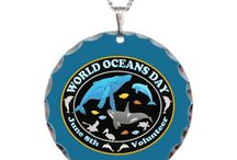 Whales Dolphins World Oceans Day T-Shirts / My Whale and Dolphin, World Ocean's Day designs on T-Shirts, cases, bags and tons more.  See my Graphic Art Animals for more Whale designs too. http://www.cafepress.com/profile/thetshirtpainter  --search Whales