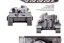 Tiger I (Panzerkampfwagen VI Tiger) Scale Models