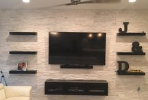 Floating TV SHELVES