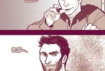 Sterek comic #3 Teacher