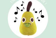 ✣ MyuM music box harvest ✣ / MyuM ! Tous les jouets sont dans la Nature ! MyuM des peluches naturelles et végétales pour apprendre à aimer les fruits et les légumes. MyuM des peluches fait main au crochet mignonnes et éducatives. MyuM des peluches en crochet en forme de fruits et légumes. MyuM des peluches ludiques et responsables. Are you radish ? www.myum.fr