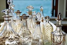 The Orchard: Vintage Bottles: Shabby Chic Vintage / Vintage bottles with style