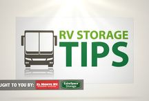 RV Storage Tips / Best tips for preparing an RV for long-term storage.