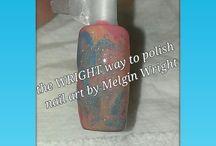 Melgin Wright's nail art extravaganza!